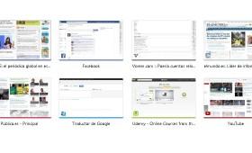 Regenerar imágenes (thumbnails) nueva pestaña en google Chrome